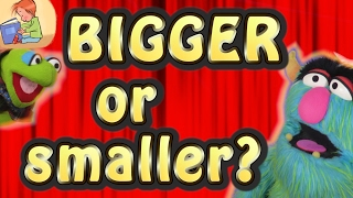 Bigger or Smaller?  ||  Words for Kids  ||  Kids Vocabulary