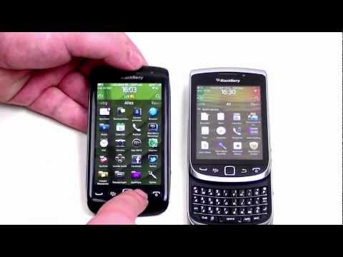 English: BlackBerry Torch 9810 vs BlackBerry Torch 9860