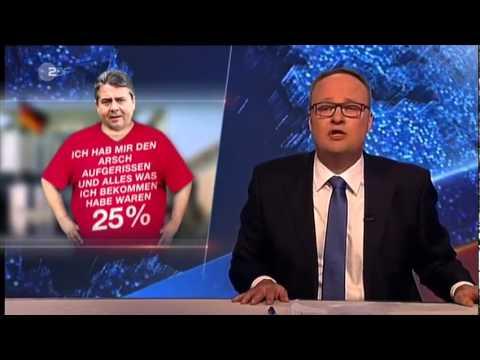 TTIP. Sigmar Gabriel: deutsche Volk reich und hysterisch.