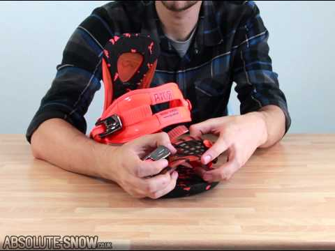 2012 / 2013 | Ride Revolt Snowboard Bindings | Video Review