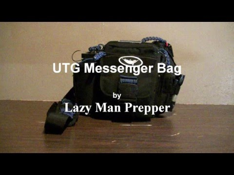 UTG Messenger Bag for Every Day Carry