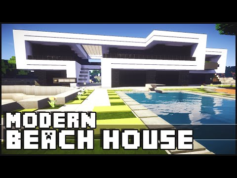 How To Build A Beach House In Minecraft Keralis