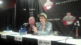 Baylor coach Kim Mulkey on her intense and upfront personality
