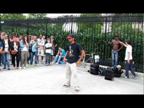 уличный танец в Париже / Street Dance in Paris