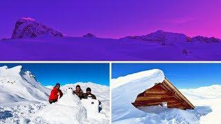 3 JOURS DANS LA VANOISE - REFUGE DU PALET ! 6m de neige / Savoie / déneigement / 13eme BCA