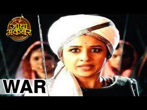 Jodha Akbar 14th July 2014 FULL EPISODE | Jodha ENTERS the War & SAVES Jalal in Zeetv