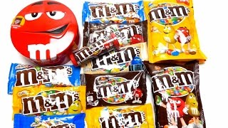 New M&M's Collection Candy Unboxing - Which M&M's are the best? ❤❤❤