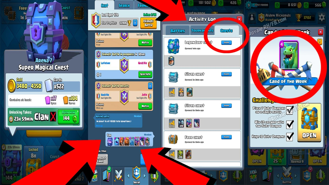 CAN THIS BE REAL LEAK? Clash Royale NEW CHESTS ACTIVITY LOG ...