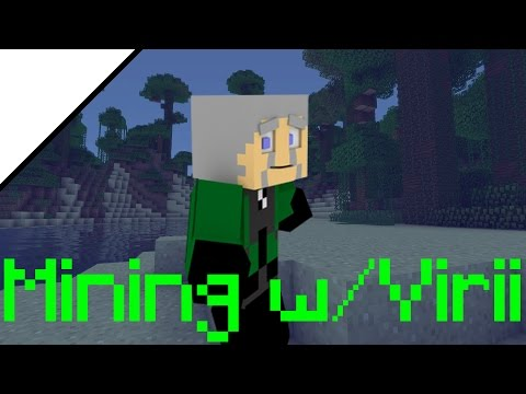 "Minecraft LP - Mining with Virii - Ep 19  ""Artists and Media Market"""
