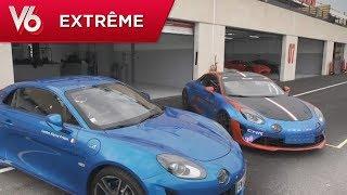Essai de l'Alpine A110 Cup avec Margot - Les essais extrêmes de V6