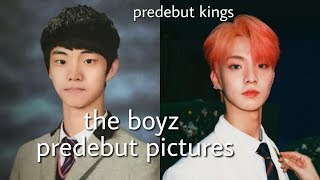 the boyz predebut pictures
