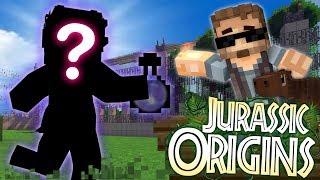 "Jurassic World Origins #6 ""A NEW SCIENTIST?"" (Dinosaur Mod Minecraft Roleplay)"