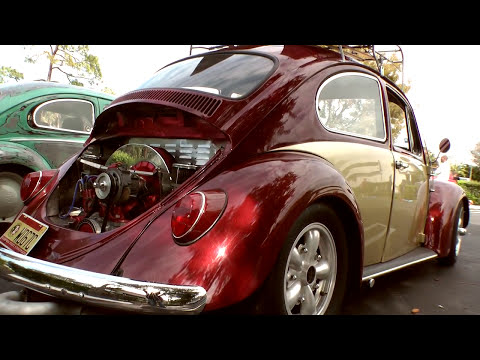 Classic VW Bugs Palm Beach Car Show, Francescas Pizza 3-4-12