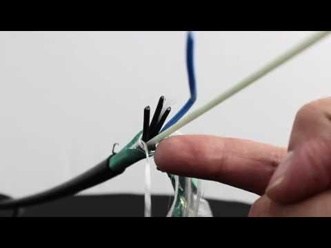 Google Fiber topology and what cable is being installed