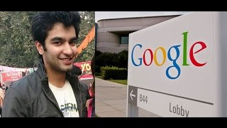 Delhi Boy Gets Rs 1.27 Crore Offer From Google