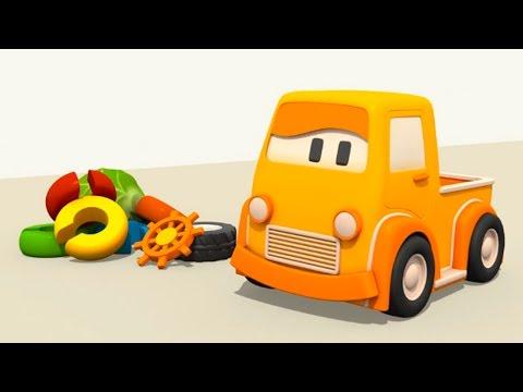 Eğitici çizgi film – Akıllı arabalar – Renkler – Oyuncak tırtıl