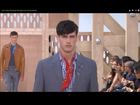 LOUIS VUITTON Spring Summer 2014 Menswear Paris HD by Fashion Channel