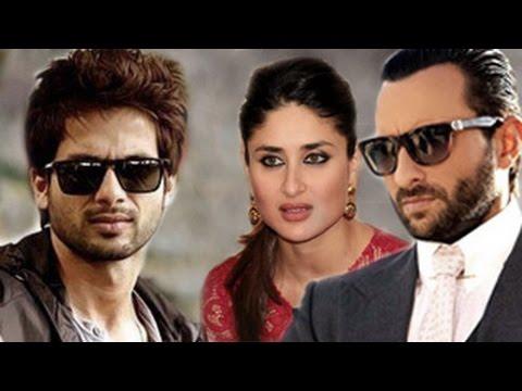 Shahid Kapoor & Saif Ali Khan Work Together | Kareena Kapoor Khan Worried video