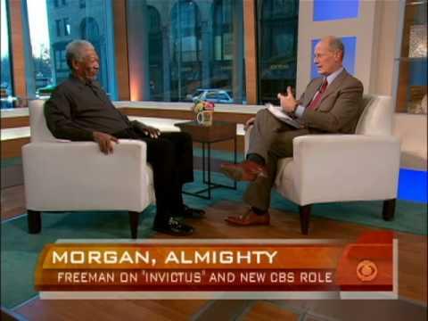 Morgan Freeman on Invictus, CBS