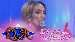 It's Showtime Miss Q & A Grand Finals: Odessa Jones | Balaka  Judge