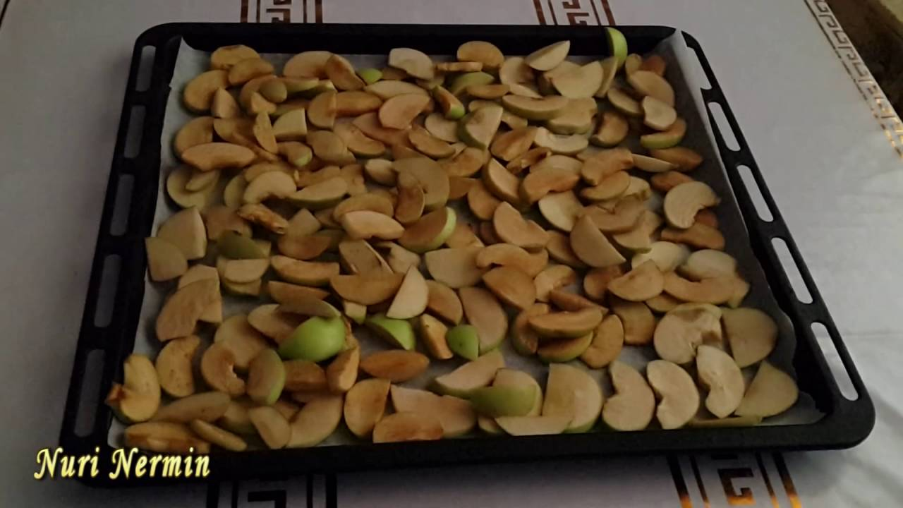 Сухофрукты из яблок в домашних условиях - YouTube
