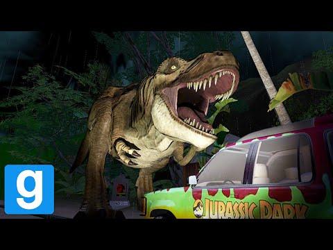 Jurassic Park in Garry's Mod