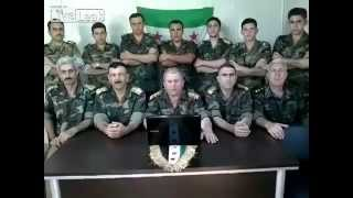 Syria Group of SAA officiers defect from it and decide to join the FSA