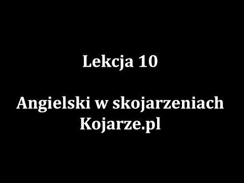 Lekcja 10 - Nauka Języka Angielskiego