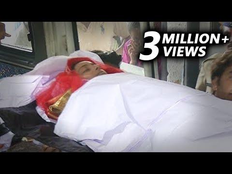 (Video) Pratyusha Banerjee's Funeral   Mother & Father Cry
