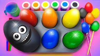 Learn Colors for Children, Toddlers, Preschool Baby with Frozen Paint Ball