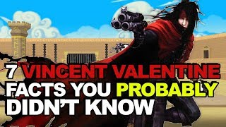 7 Vincent Valentine Facts You Probably Didn't Know
