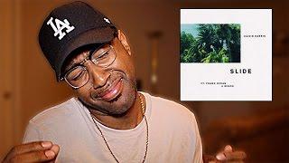 Calvin Harris - Slide Feat. Frank Ocean & Migos (Reaction)