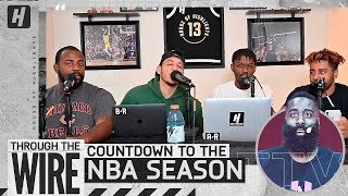 The Countdown To The NBA Season | Through The Wire Podcast