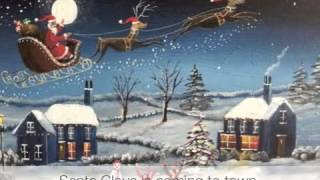 Santa Claus is Coming To Town (lyrics)