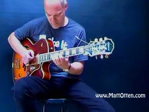 Epiphone 'Joe Pass' Practice Session with loop pedal