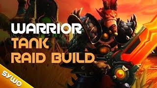 Wildstar - Warrior tank raid build (20+ man content)