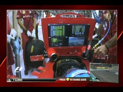 F1 2012 Fernando Alonso onboard Q3 in Abu-Dhabi FULL