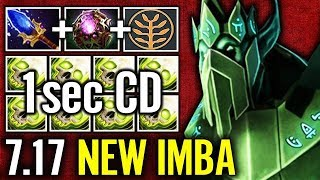 Necrophos Octarine + Talent tree NEW Cancer 7.17 Heal All WTF imba Dota 2
