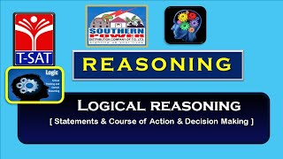 TSPSC - Police  || Reasoning - (Statements & Course of Action) & Decision Making  || Amarnath Reddy