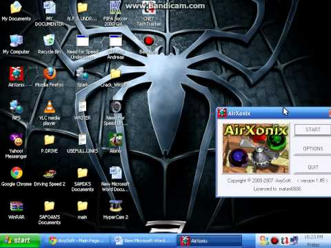 HOW TO DOWNLOAD AND REGISTER AIRXONIX ....avi