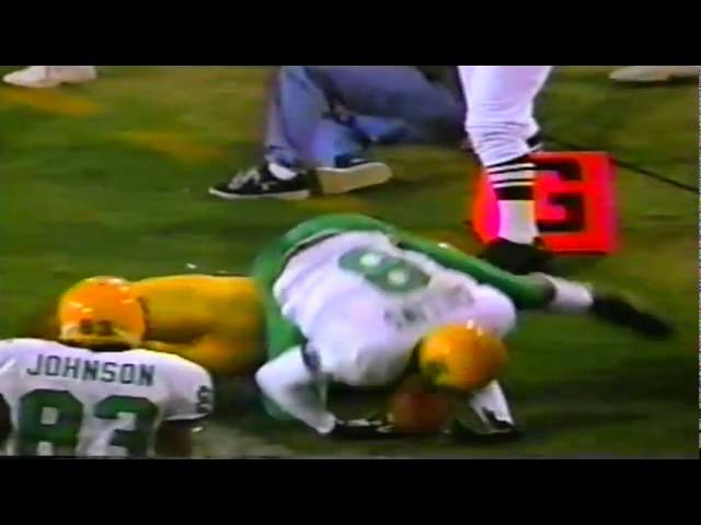 Oregon TE LaCorey Collins 10 yard touchdown catch vs. ASU 11-15-1997