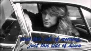Watch Bon Jovi The Radio Saved My Life Tonight video