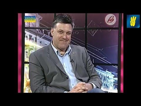 """Олег Тягнибок в етері телеканалу """"Нова волинь"""""""