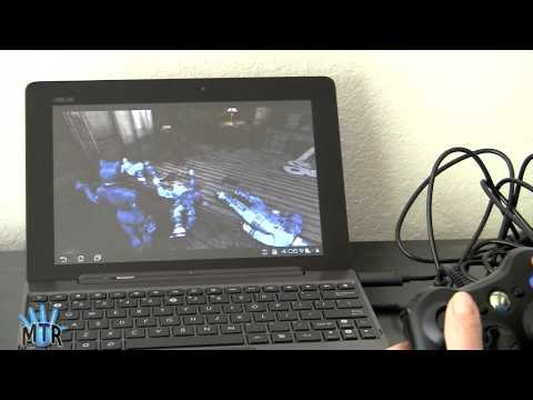 OnLive Gaming on the Asus Eee Pad Transformer Prime and Acer Iconia Tab A200