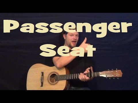 Passenger Seat (Stephen Speaks) Easy Strum Guitar Lesson How...