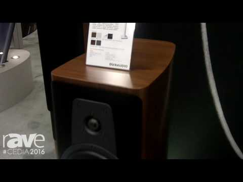 CEDIA 2016: Dynaudio Showcases New Contour Series of Speaker Products