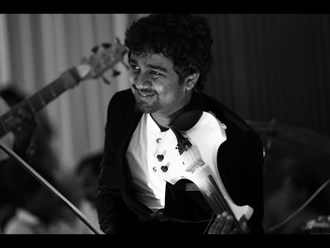 Abhijith Violin Live - etho Varmukilinon Violin With His Fusion Band video