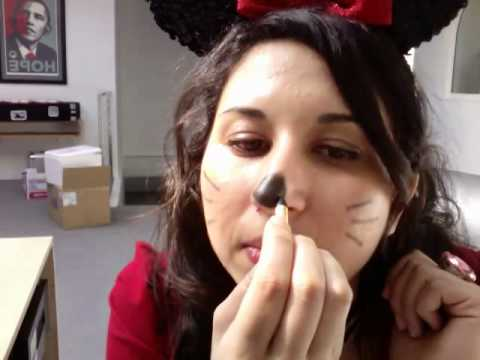 Minnie Mouse Nose Tutorial Minnie Mouse Nose