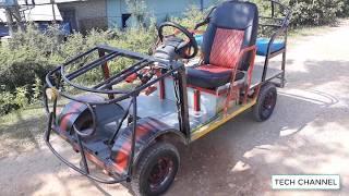 TECH - Homemade supercar - Electric car
