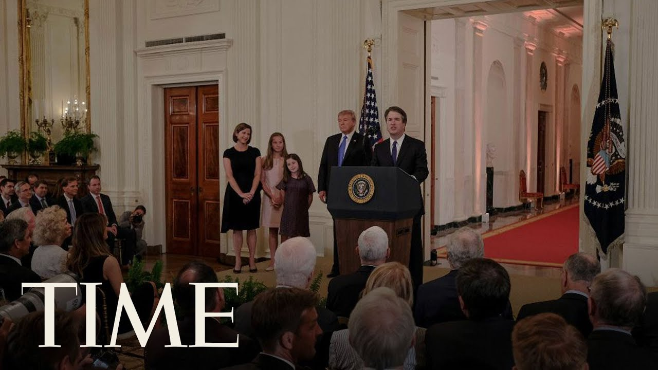 President Trump Names New Supreme Court Justice | TIME